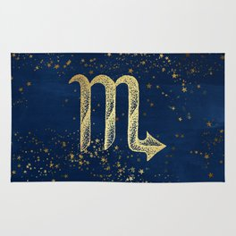 Scorpio Zodiac Sign Rug
