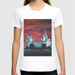 San Diego LDS Temple at Dusk T-shirt