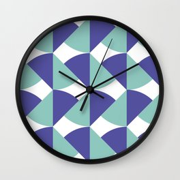 Underwater Colors Wall Clock