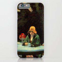 AUTOMAT - EDWARD HOPPER iPhone Case