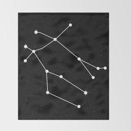 GEMINI (BLACK & WHITE) Throw Blanket
