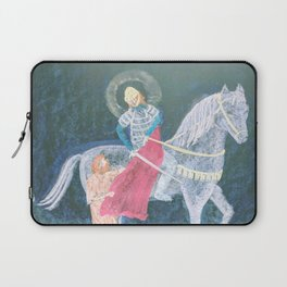 St. Martin and the Beggar Laptop Sleeve