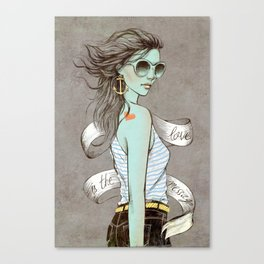 sailor girl Canvas Print