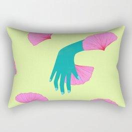 tired of indecision Rectangular Pillow