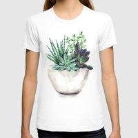 succulents T-shirts featuring Succulents by Bridget Davidson