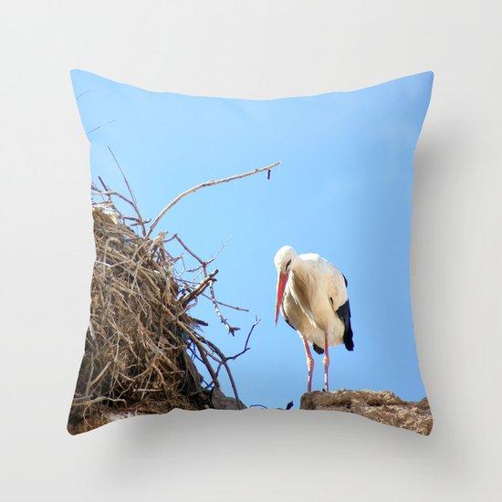 House Proud Throw Pillow