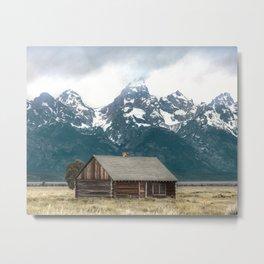 Cool Mountain Air - Grand Teton National Park Metal Print