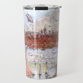 La Citta' Ponte (Color Version) Travel Mug