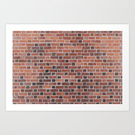 Red Brick Art Print