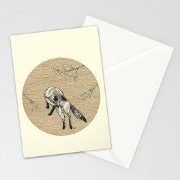A fox Stationery Cards