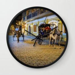 Vigan City, Philippines Wall Clock