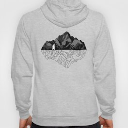 Mountains Bear Hoody