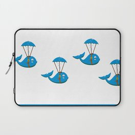Whale skydiving V6S2 Laptop Sleeve