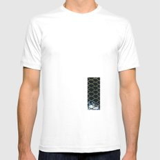 La red Mens Fitted Tee MEDIUM White