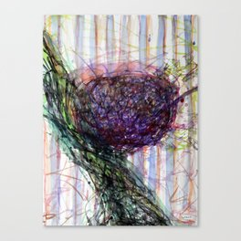 Splashy Fruit Canvas Print