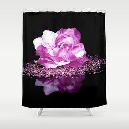 Flower reflexion Shower Curtain