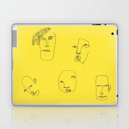 Feeling yellow Laptop & iPad Skin
