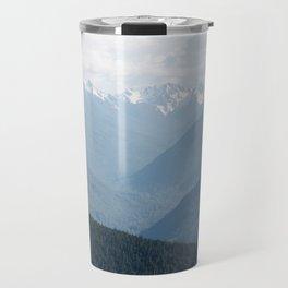 Olympic Mountains Travel Mug