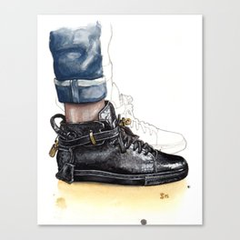 Buscemi 100MM Fashion Illustration Canvas Print