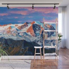Marmolada Glacier Wall Mural