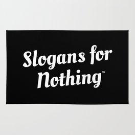 Slogans for Nothing Rug