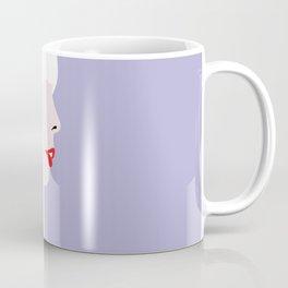 Joni Mitchell (red) Coffee Mug