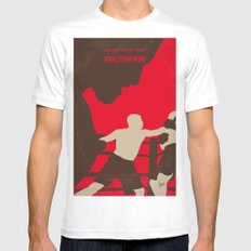 No723 My Southpaw minimal movie poster MEDIUM White Mens Fitted Tee
