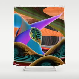 Mother by Kenny Rego Shower Curtain