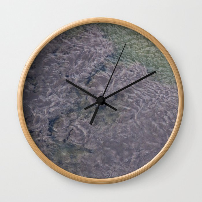 Water Currents Wall Clock