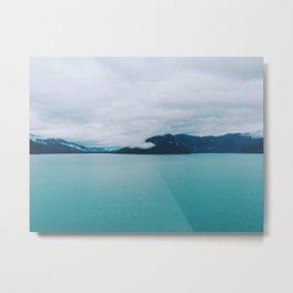 Alaskan Bay Metal Print