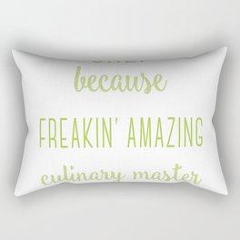Chef t-shirt Rectangular Pillow