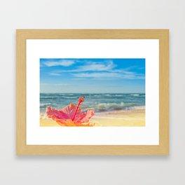 peace love and aloha Framed Art Print