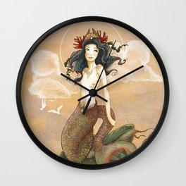 Le Chant des vagues Wall Clock