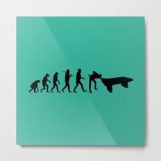 Evolution snooker Metal Print