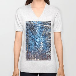 Deep into the gap Unisex V-Neck