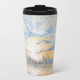 Under a Cloud - Original Impressionistic Painting Travel Mug