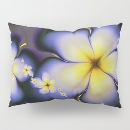 Petite Fleur Jaune Fractal Pillow Sham