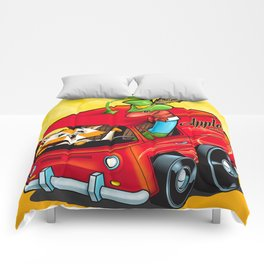 Scary Apple Delivery Comforters