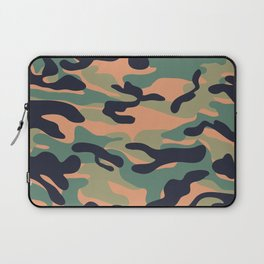 Military camouflage pattern 17 Laptop Sleeve