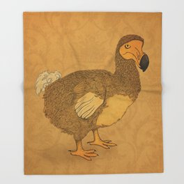Dodo Throw Blanket