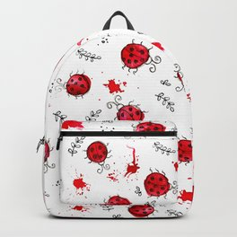 Little Ladybird | Inkies Pattern Collection Backpack