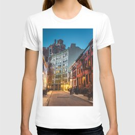 Twilight Hour - West Village, New York City T-shirt