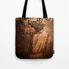 GOAT THRONE Tote Bag