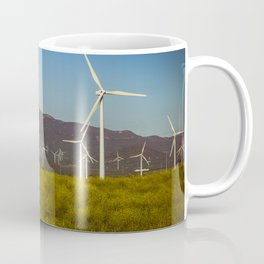Group of fans in the mountains. Coffee Mug
