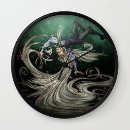 Creeping Up Wall Clock