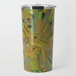 """""""The Green Energy"""" Ecologic atypic art by WHITEECO Ecologic design Travel Mug"""