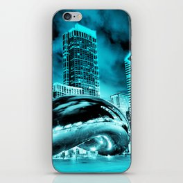 Chicago Blues 1 iPhone Skin