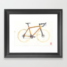 Coffee Wheels - Salsa Warbird Framed Art Print
