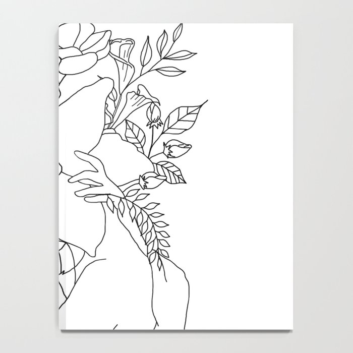Blossom Hug Notebook