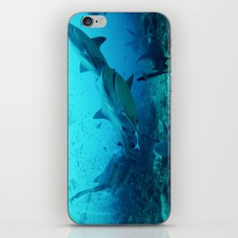 Bull Sharks iPhone Skin